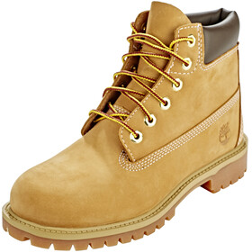 "Timberland Icon Collection Premium Sko Børn 6"" gul"